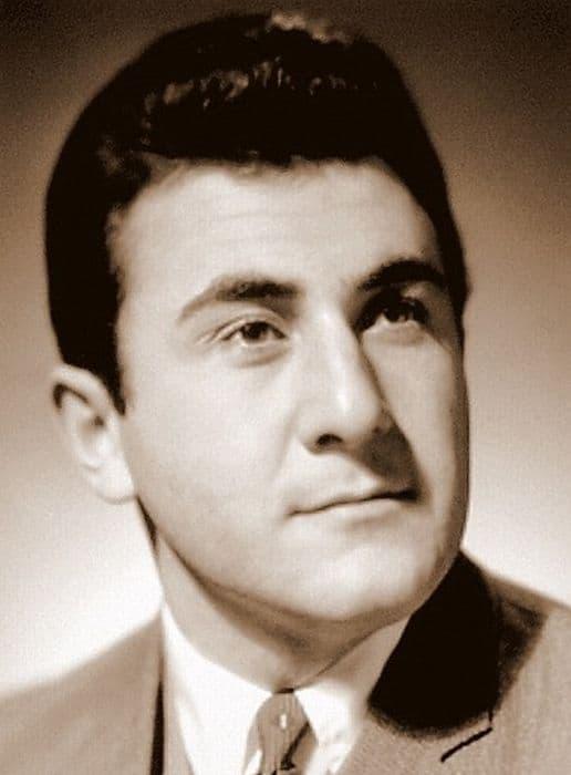Леонид Каневский в молодости