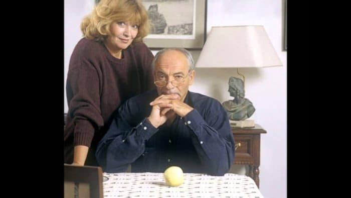 Валентин Гафт с женой Ольгой Остроумовой