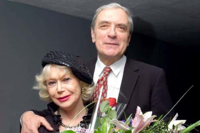 Александр Лазарев старший с женой