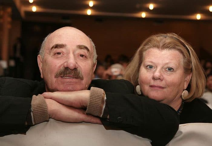 Ирина Муравьева и ее муж Леонид Эйдлин