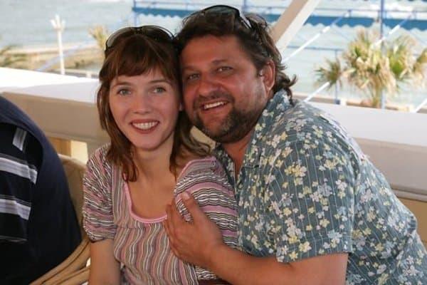Александр Самойленко с женой