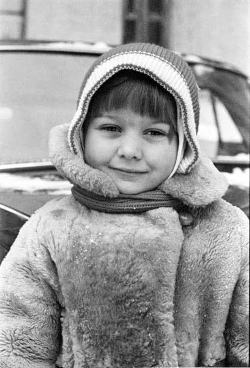 Лариса Голубкина в детстве