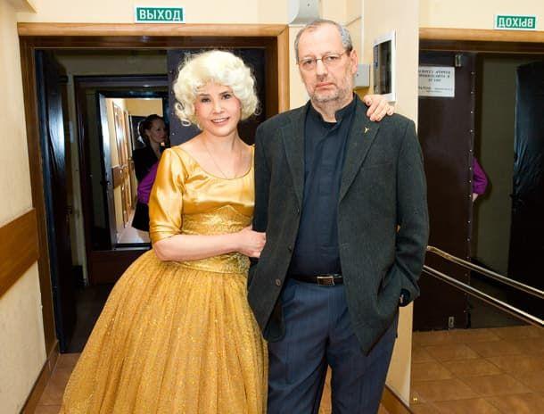 Татьяна Догилева с мужем