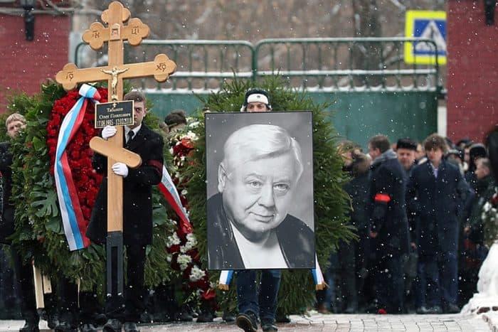 Похороны Олега Табакова