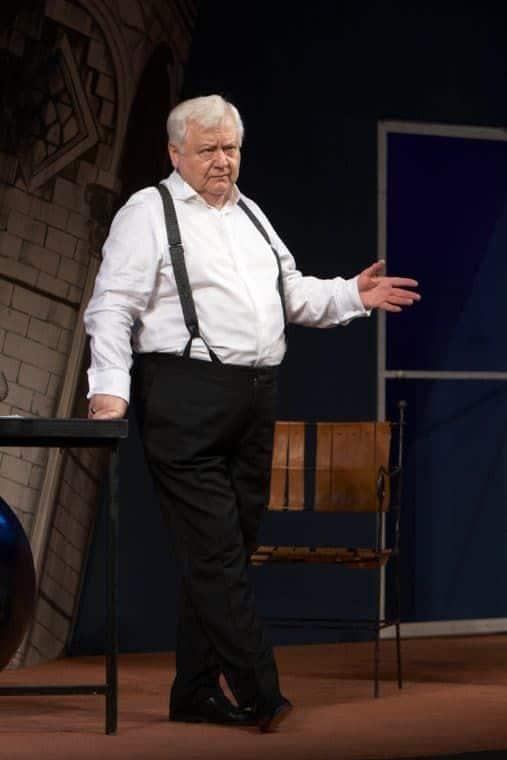 Олег Табаков в театре