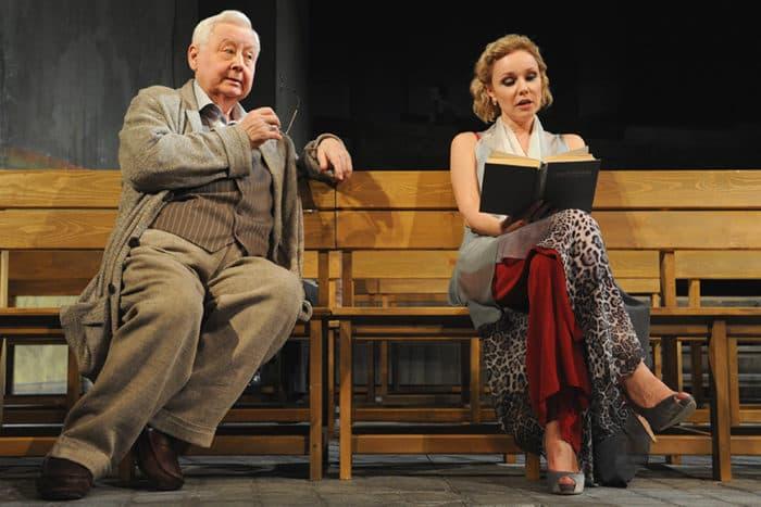 Марина Зудина в Театре с Олегом Табаковым