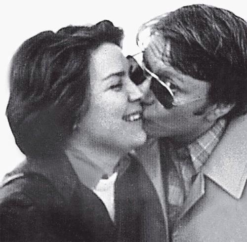 Лариса Голубкина с мужем