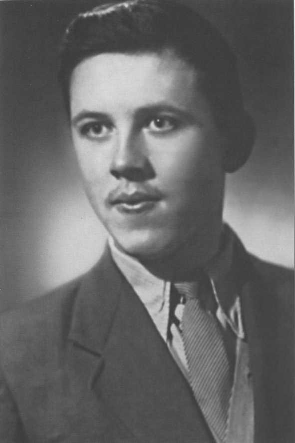 Валерий Золотухин в юности