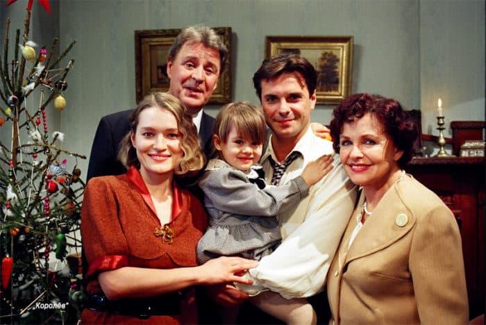 Наталья Фатеева с семьей