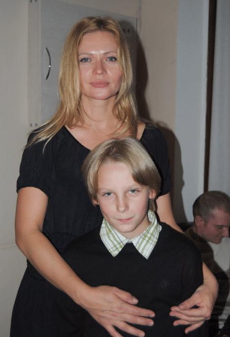 Татьяна Черкасова с сыном