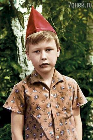 Денис Рожков в детстве