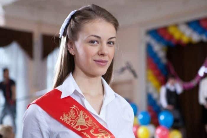 Олеся Фаттахова в юности