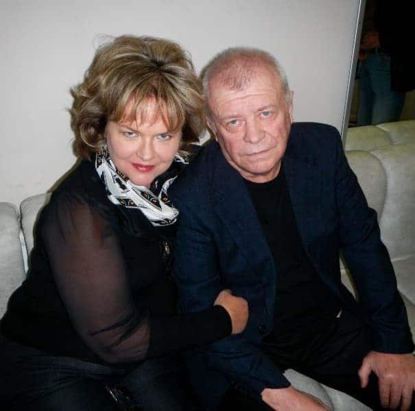 Александра Яковлева и ее муж Калью Аасмяэ