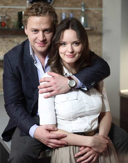 Алексей Барабаш с женой