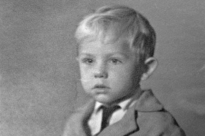 Андрей Соколов в детстве