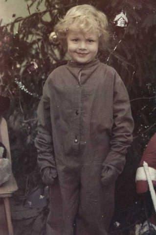 Алексей Барабаш в детстве