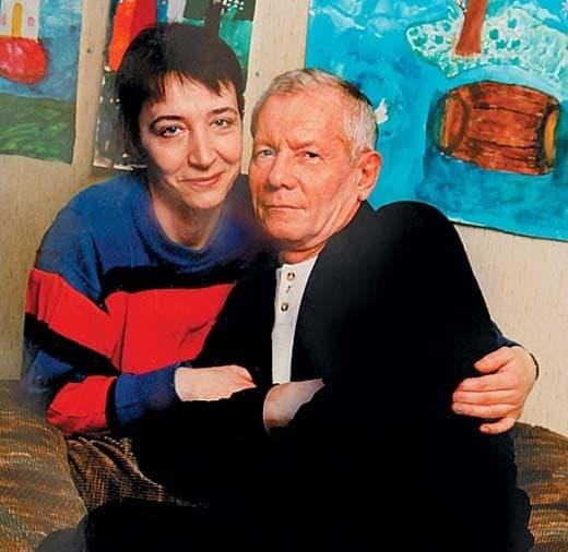 Михаил Жигалов с женой