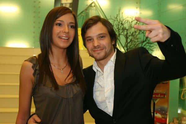 Андрей Чадов с женой