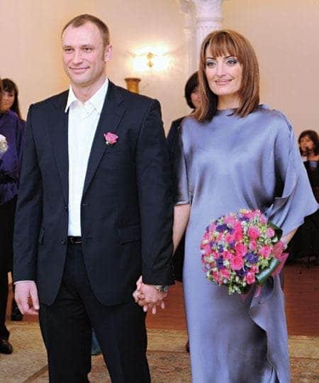 Сергей Юшкевич с женой