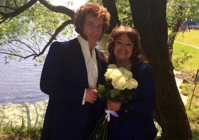 Наталья Бондарчук с мужем