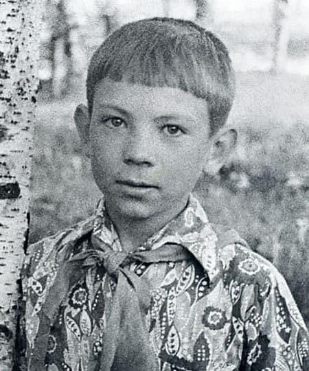 Андрей Федорцов в детстве