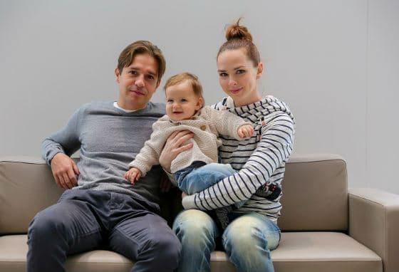 Александр Ратников с семьей