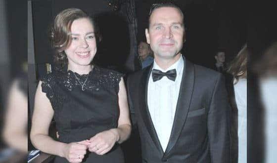 Виктор Добронравов с женой