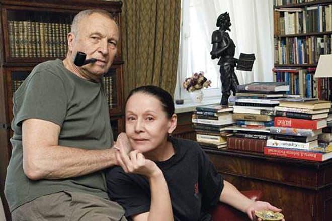 Елена Прудникова с мужем Андреем Смирновым