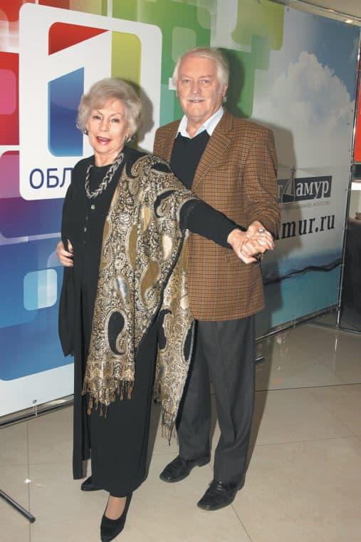 Алла Будницкая и ее муж Александр Орлов