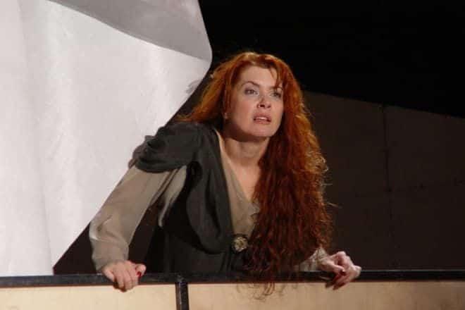 Вера Сотникова в театре