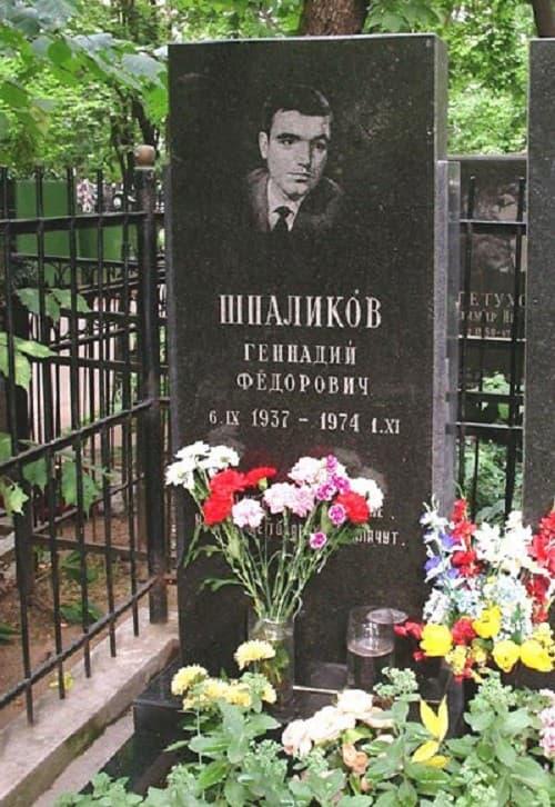 Могила Геннадия Шпаликова
