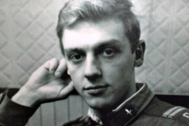 Александр Половцев в молодости