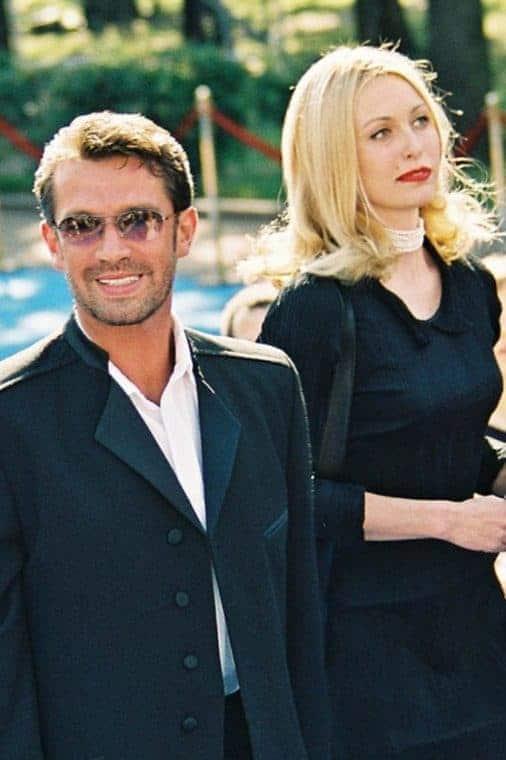 Владимир Машков с третьей женой Ксенией Терентьевой