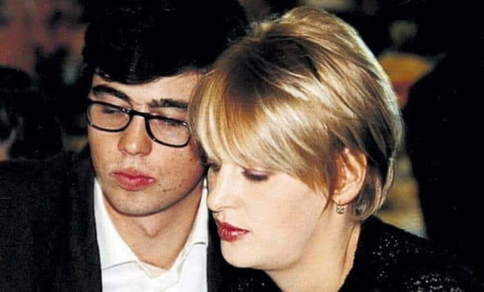 Сергей Бодров и его жена Светлана Михайлова