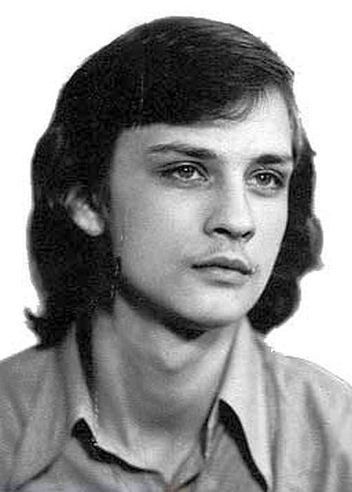 Александр Домогаров в молодости
