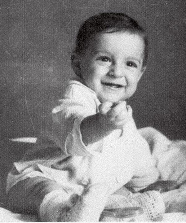 Владимир Зельдин в детстве