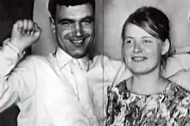 Геннадий Шпаликов и его жена Наталья Рязанцева