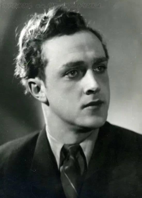 Владислав Стржельчик в молодости