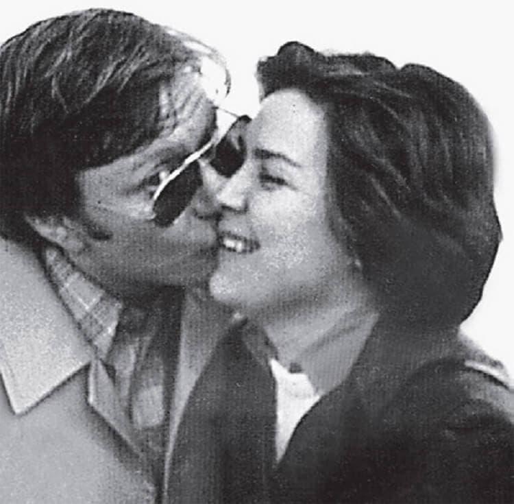 Андрей Миронов и его вторая жена Лариса Голубкина