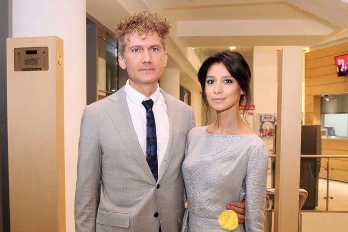 Равшана Куркова и ее муж Семён Курков
