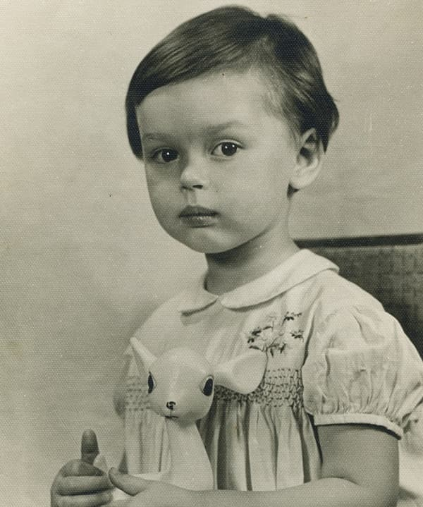 Ирина Безрукова в детстве