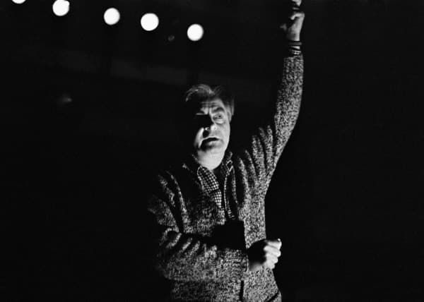 Юрий Любимов в театре