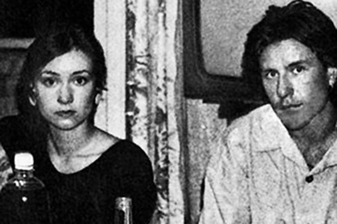 Нонна Гришаева с первым мужем Антоном Деровым