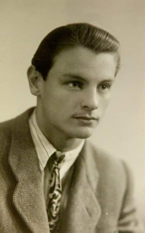 Андрей Тарковский в молодости