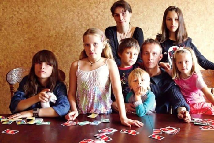 Дети и жена Ивана Охлобыстина