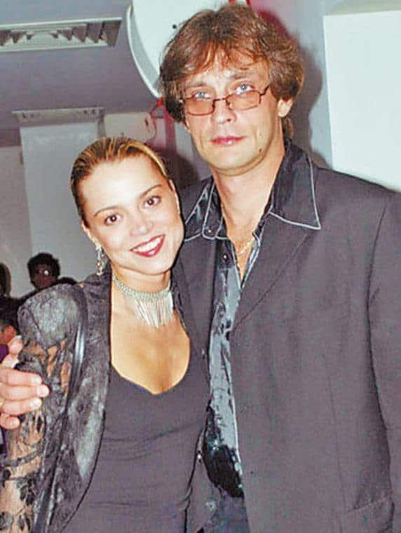Александр Домогаров и Наталья Громушкина