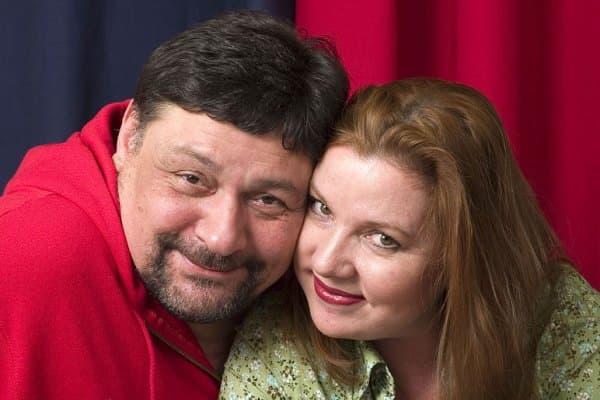Дмитрий Назаров и его жена Ольга Васильева