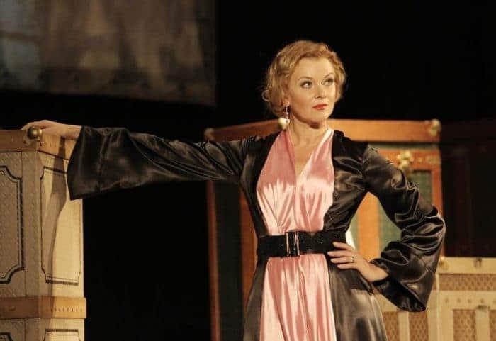 Анна Терехова в театре
