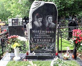 Могила Нонны Мордюковой