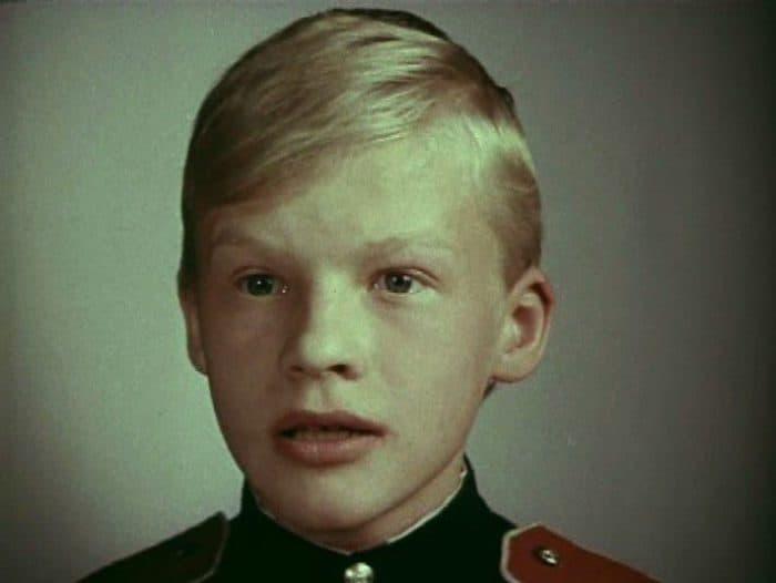 Алексей Серебряков в детсве